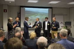 Bioplastic uit rioolwater presentatie