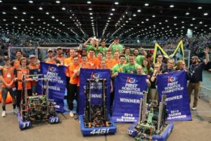 Team Rembrandt, World Champion Robotica, sponsored by Oerlemans Packaging - Flexpak